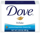 Diversey 3.15 OZ DOVE BAR WHITE REG (RETAIL PACK), 48/CA, #DVOCB614243