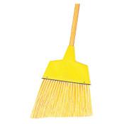 "Boardwalk Angler Broom, Plastic Bristles, 53"" Wood Handle, Yellow, 1/EA, #BWK932AEA"