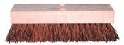 Magnolia Brush Deck Scrub Brushes, 12 in Hardwood Block, 2 in Trim L, Stiff Palmyra, 12/EA, #112