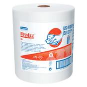 Kimberly-Clark Professional WypAll X80 Towels, Jumbo Roll, Cotton White, 475 per roll, 1/RL, #41025