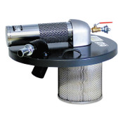 Guardair Vacuum Generating Heads, Accepts 1 1/2 in Vac Hose, For 55 gal. Vacs, 1/EA, #N551BX
