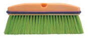 Magnolia Brush Vehicle Wash Brush, 10 in Foam Plstc Blk, 2-1/2 in Trim L, Green Flagged Nylon, 1/EA, #3033