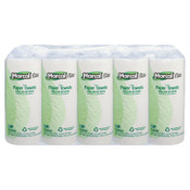 MARCAL PRO 100% Premium Recycled Perforated Towels, 11 x 9, White, 70/Roll, 15/CT, #MRC610