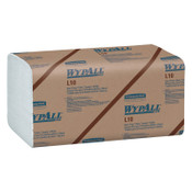 Kimberly-Clark Professional WypAll L10 SANI-PREP Dairy Towels, Banded, 1-Ply, 10.5 x 9 3/10, 200/PK, 12/CS, #1770