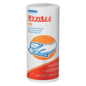 Kimberly-Clark Professional WypAll L30 Wipers, Canister, White, 70 per roll, 24 Rolls/Case #5843