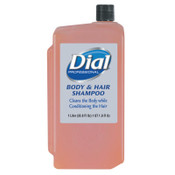 Dial Professional Body & Hair Care, Peach, 1 L Refill Cartridge, 8/CT, #DIA04029