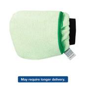 Boardwalk Grip-N-Flip 10 Sided Microfiber Mitt, 7 x 6, Green, 12/EA, #BWKMICROMITTGRE