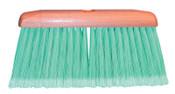 Magnolia Brush Feather-Tip Household Floor Broom, 9 1/8 in Hardwood Block, 4 in Trim L, Plastic, 12/EA, #3010