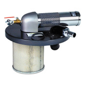 Guardair Vacuum Generating Heads, Accepts 1 1/2 in Vac Hose, For 30 gal. Vacs, 1/EA, #N301BX