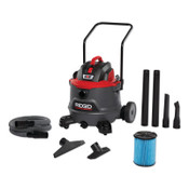 Ridge Tool Company 14 Gallon NXT Wet/Dry Vac with Cart, 1/EA, #62718