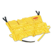 Newell Rubbermaid Brute Rim Caddies For Use With Brute 32 gal/44 gal Containers, 20 in dia, Yellow, 1/EA, #264200YEL
