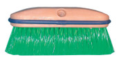 Magnolia Brush Vehicle Wash Brush, 8 in Foam Plstc Blk, 2-1/2 in Trim L, Green Flagged Nylon, 1/EA, #3034