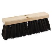 Boardwalk Street Broom Head, 16 in Wide, Polypropylene Bristles, 1/EA, #BWK73160