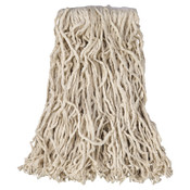 Newell Rubbermaid Economy Cotton & Rayon Cut-End Wet Mops, #16, Cotton, 1 in, 12/ca, #V11600WH