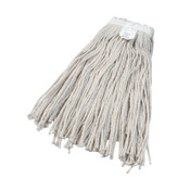 Boardwalk Cut-End Wet Mop Head, Cotton, No. 24, White, 12/EA, #BWK2024CEA