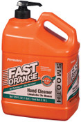 Permatex Fast Orange Smooth Lotion Hand Cleaners, Citrus, Bottle w/Pump, 1 gal, 4/CS, #23218