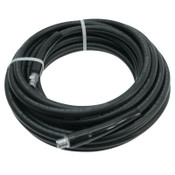 "Continental ContiTech Neptune 3000 Pressure Washer Hose, 3/8"" In Dia, 3/4"" Out Dia, 50 ft, Black, 1/EA, #20023570"