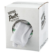 Hospeco Counter Cloth/Bar Mop, White, Cotton, 60/CT, #HOS536605DZBX