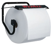 Kimberly-Clark Professional WypAll Jumbo Wiper Dispensers, Wall, Metal, Black, 1/EA, #80579