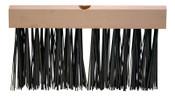 Magnolia Brush Flat Wire Floor Brushes, 12 in Hardwood Block, 5 in Trim L, Oil-Tempered Steel, 1/EA, #2512