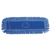 Boardwalk Mop Head, Dust, Looped-End, Cotton/Synthetic Fibers, 24 x 5, Blue, 1/EA, #BWK1124