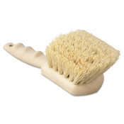 Boardwalk Utility Brush, Tampico Fill, 8 1/2 in Long, Tan Handle, 1/EA, #BWK4208