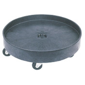 Newell Rubbermaid Brute Dollies, Fits 2655, 24 3/8 in, 1/EA, #265000BLA