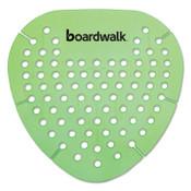 Boardwalk Gem Urinal Screen, Herbal Mint Fragrance, Green, 12/BX, #BWKGEMHMI