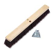 Boardwalk Floor Brush Head, 3 1/4 in Maroon Stiff Polypropylene, 24 in, 1/EA, #BWK20324