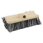 Boardwalk Dual-Surface Vehicle Brush, 10 in Long, Brown, 1/EA, #BWK8420