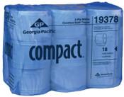 Georgia-Pacific Compact Coreless High Capacity Bathroom Tissue, 4.05 x 3.85, 506.25 ft, 1/CA, #GPC19378