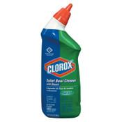Clorox Toilet Bowl Cleaner with Bleach, Fresh, 24oz Bottle, 12/CT, #CLO00031EA