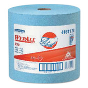 Kimberly-Clark Professional WypAll X70 Workhorse Rags, Blue, 870 per roll, 1/CA, #41611