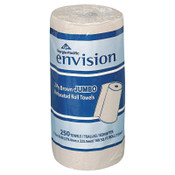 Georgia-Pacific Envision Perforated Paper Towel, 11 x 8 4/5, Brown, 250/Roll, 12/CT, #GPC28290