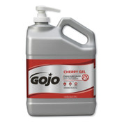 Gojo Cherry Gel Pumice Hand Cleaners, Cherry, Bottle w/Pump, 1 gal, 2/EA, #235802