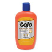 Gojo Natural Orange Smooth Hand Cleaners, Citrus, Squeeze Bottle, 14 oz, 12/BTL, #94712