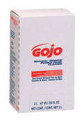Gojo Natural Orange Smooth Hand Cleaners, Citrus, Bag-in-Box, 2,000 mL, 4/EA, #725004