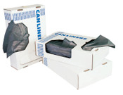 Boardwalk Waste Can Liners, 40-45 gal, 40 x 46, 0.6mil, White, 25/Roll, 1/CT, #BWK4046EXH