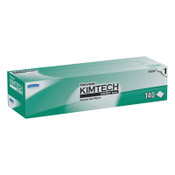 Kimberly-Clark Professional KIMTECH KIMWIPES Delicate Task Wipers, 1-Ply, 14 7/10 x 16 3/5, 140/BX, 1/CT, #KCC34256CT