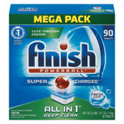 Reckitt Benckiser Powerball Dishwasher Tabs, Fresh Scent, 90/Box, 1/CT, #FSH89729CT