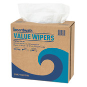 Boardwalk DRC Wipers, White, 9 x 16 1/2, 9 Dispensers of 100, 1/CT, #BWKV040IDW