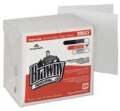 Georgia-Pacific Brawny Industrial  Medium Duty All Purpose DRC Wipers, 1/4 Fold, White, 1/CA, #GPC20023