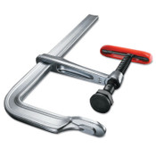BESSEY 2400S Series Bar Clamps, 12 in, 5 1/2 in Throat, 2,800 lb Load Cap, 1/EA, #2400S12