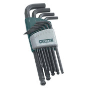 Apex Tool Group Ball Plus Hinged Hex Key Set, 3 per set, BALL PLUS Ball End, SAE, 1/EA, #56612G