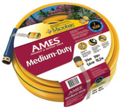 The AMES Companies, Inc. All Weather Garden Hoses, 5/8 in X 50 ft, Yellow, 1/EA, #4008100A