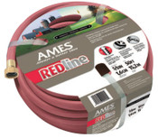 The AMES Companies, Inc. Redline Hot Water Hoses, 3/4 in X 100 ft, Red, 1/EA, #4009100A