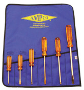 Ampco Safety Tools Screwdriver Kits, Phillips; Slotted, 1/KIT, #M39