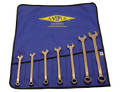 Ampco Safety Tools 7 Piece Combination Wrench Sets, Inch, 1/SET, #M41