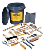 Ampco Safety Tools 17 Pc Tool Kits, 1/KIT, #M51