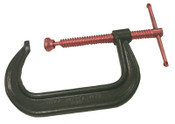 Anchor Products Drop Forged C-Clamp, 6-5/16 in Throat Depth, 12 in L, 1/EA, #412C
